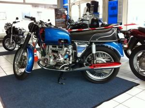 BMW Motorrad Schnittmodell