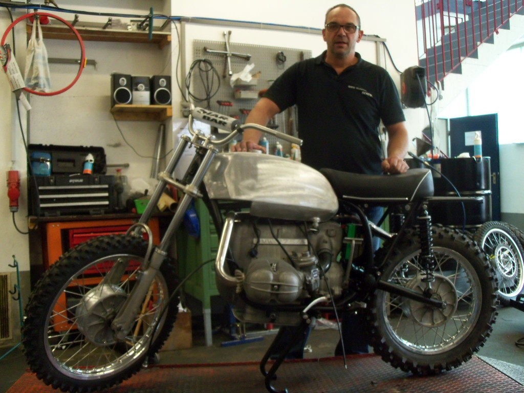 Schek-Popp Projekt bei Schek BMW Motorrad Wangen