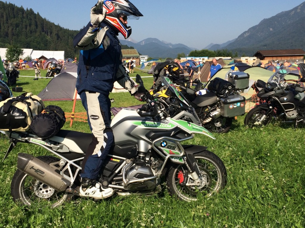 BMW Challenge Bike in Garmisch