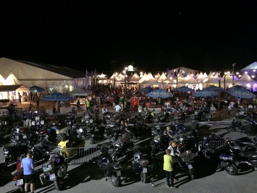 BMW Motorrad Days 2015 in voller Stimmung