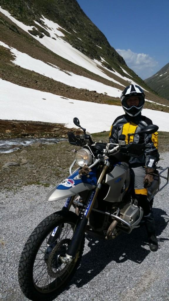 Alpentour mit der HP2 BMW bei den BMW Days
