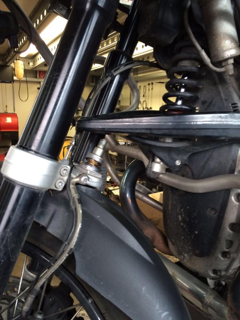 BMW Gabel mit Kugelgelenk ohne Gelenkgummi