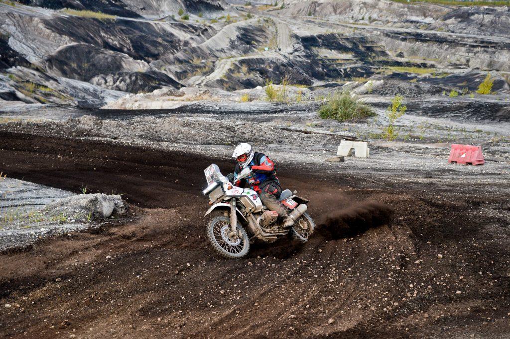 BMW Motorrad 2-Ventil Boxer auf der Baja Deutschland