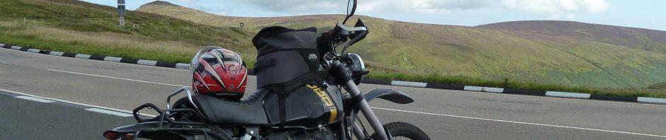 Der höchste Berg der Isle of Man