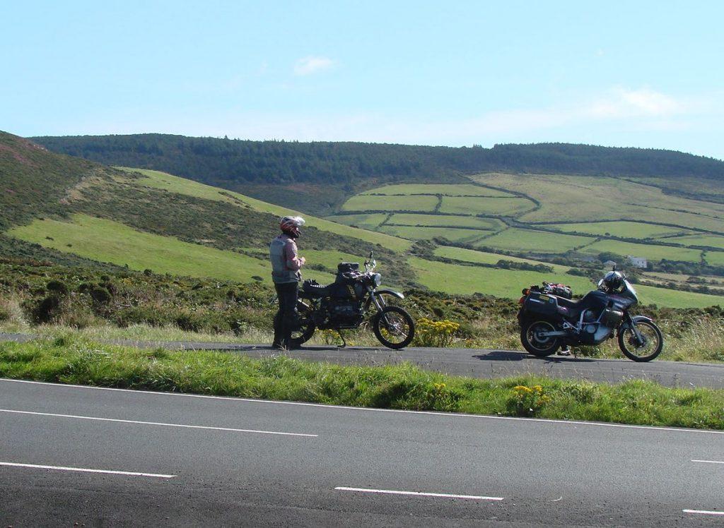wunderschöne Landschaft auf der Isle of man
