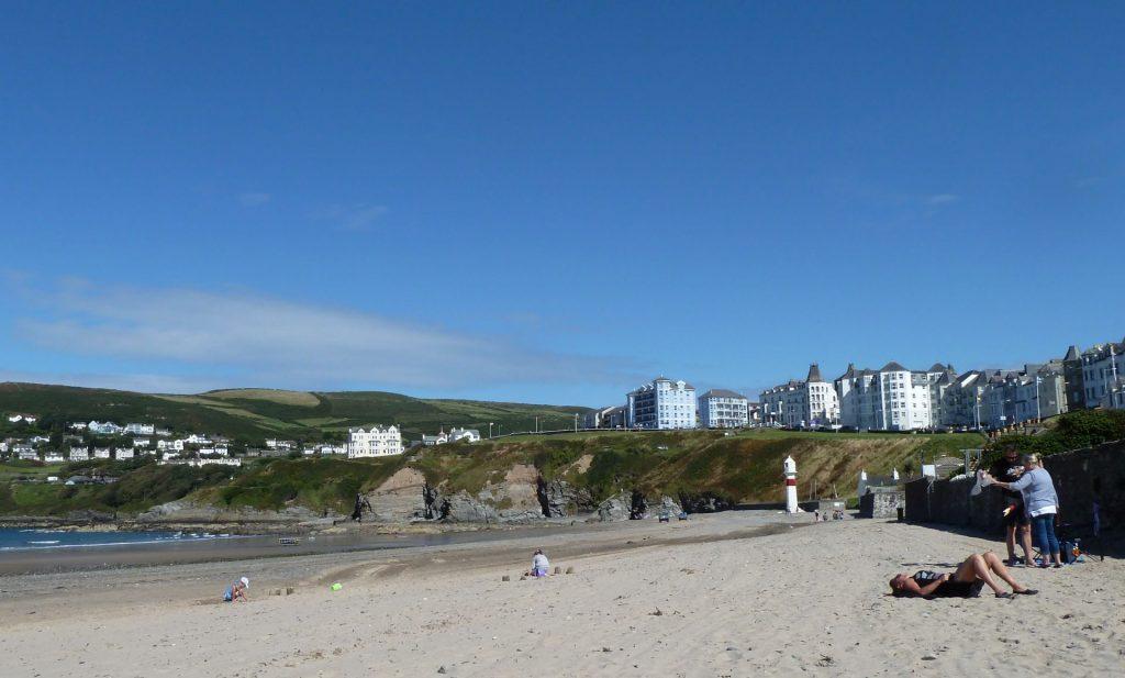 Schöner Sandstrand auf der Isle of Man