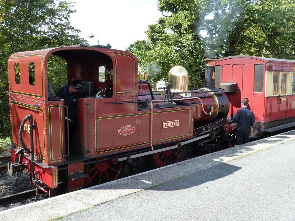 Schmalspurbahn auf der Isle of Man