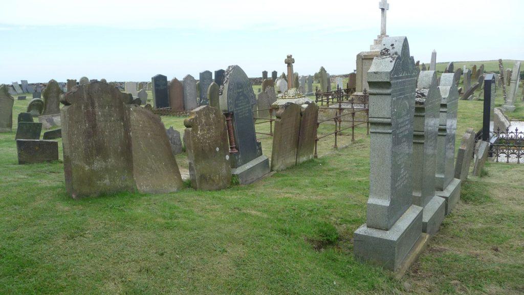 Friedhof auf der Isle of Man