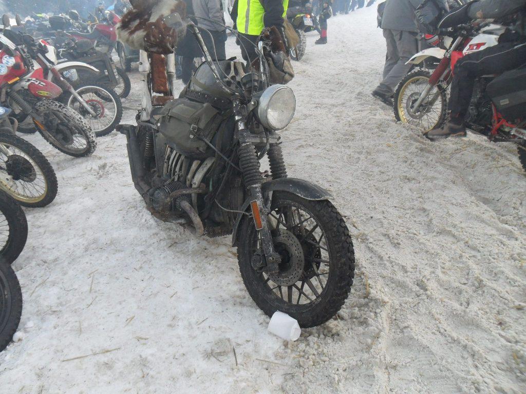 BMW R Motorrad beim Elefantentreffen