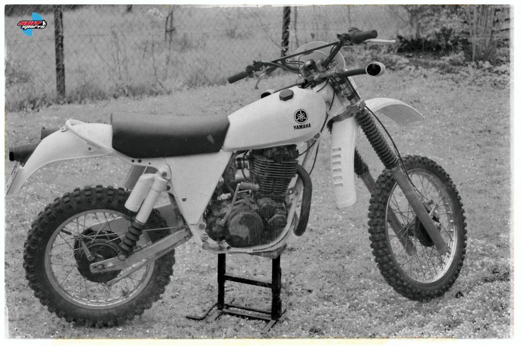 Umgebaute Yamaha für Enduro Rennen