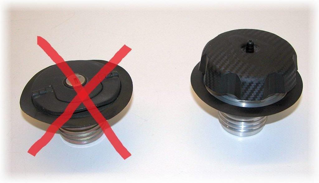 Ersatztankverschluss, Fuelcap für den BMW Motorradtankdeckel versenkt 51252307125 und 51252316119
