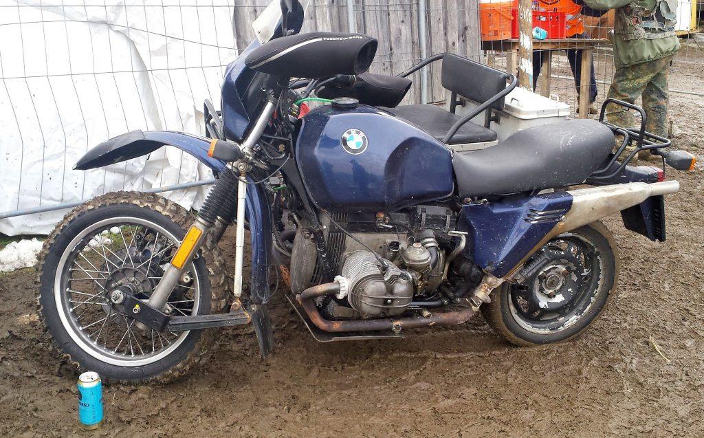 BMW Motorrad Gespann in Solla
