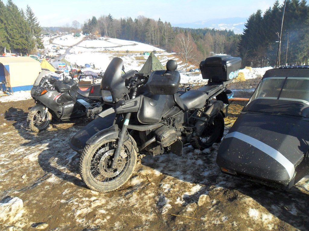 BMW Motorrad Gespann auf dem E-Treffen