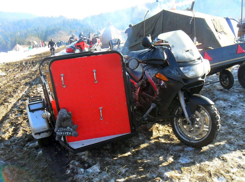 Beiwagen für BMW Motorrad Gespann in Solla