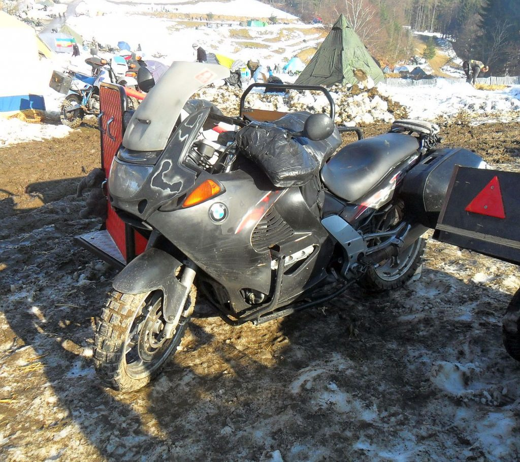 BMW K Motorrad Gespann