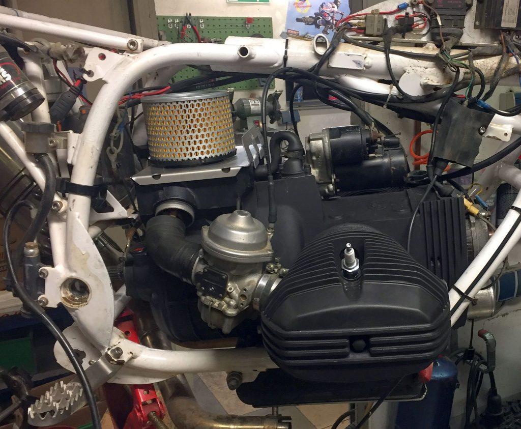 Umbauboxer mit Anlasser und Luftfilter