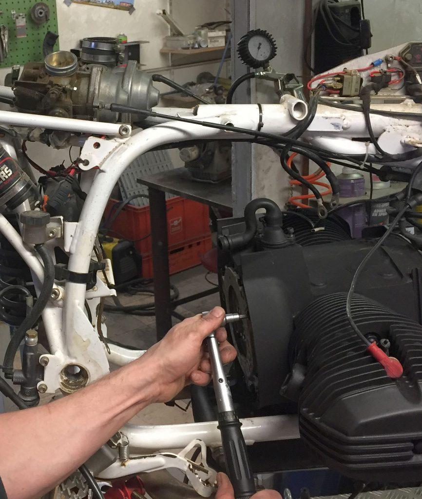 Zusammenbau der BMW Motorrad Sachs Kupplung