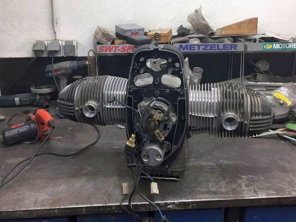 Gemachter Motor mit BIG BORE Kit 860ccm