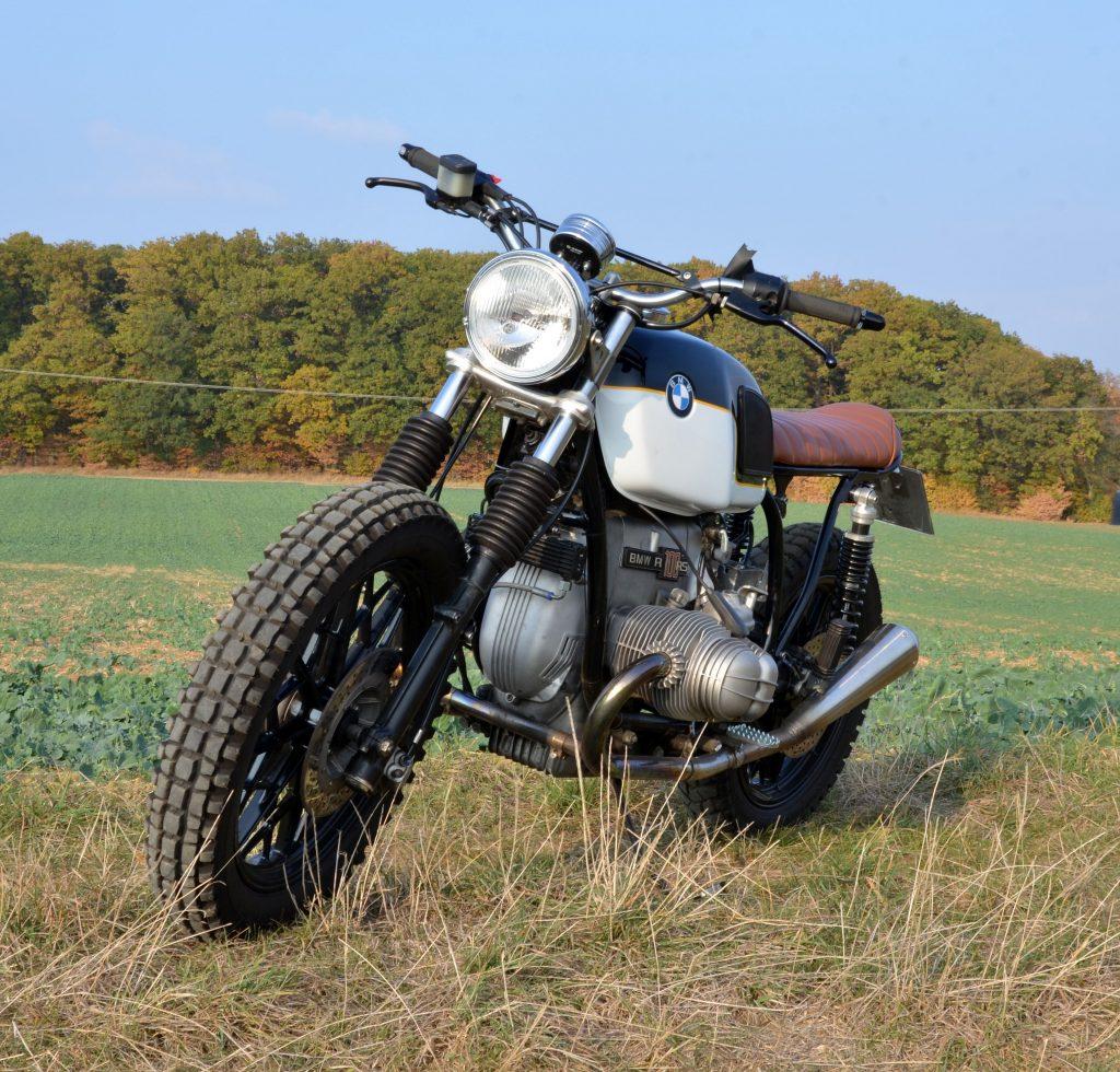Caferacer auf BMW Motorrad 2-Ventil Basis