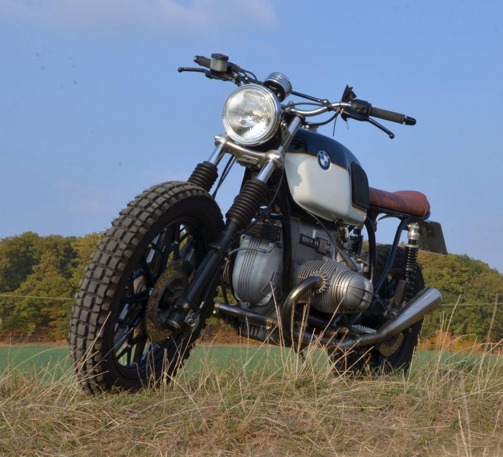 Bobberumbau auf BMW Motorrad RS Basis
