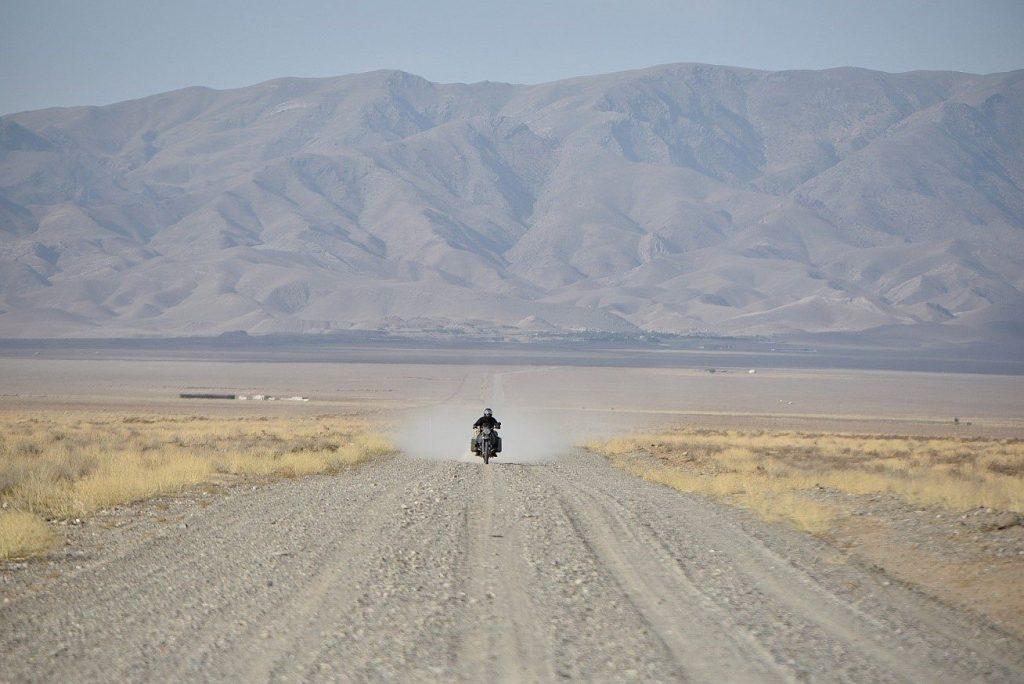 Mit der BMW GS zum Aydarsee in Usbekistan