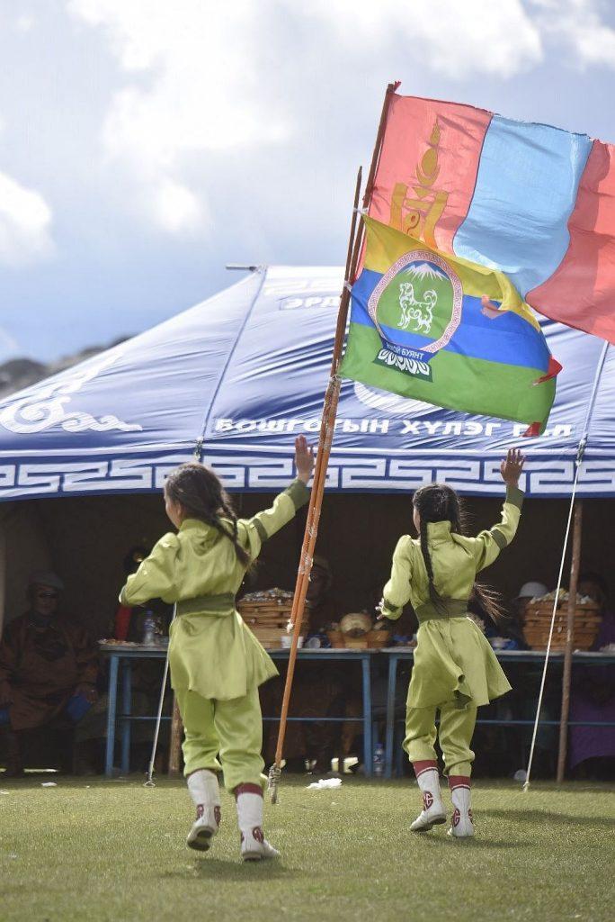 Ein Festtag in der Mongolei auf unserer Reise durch Asien.