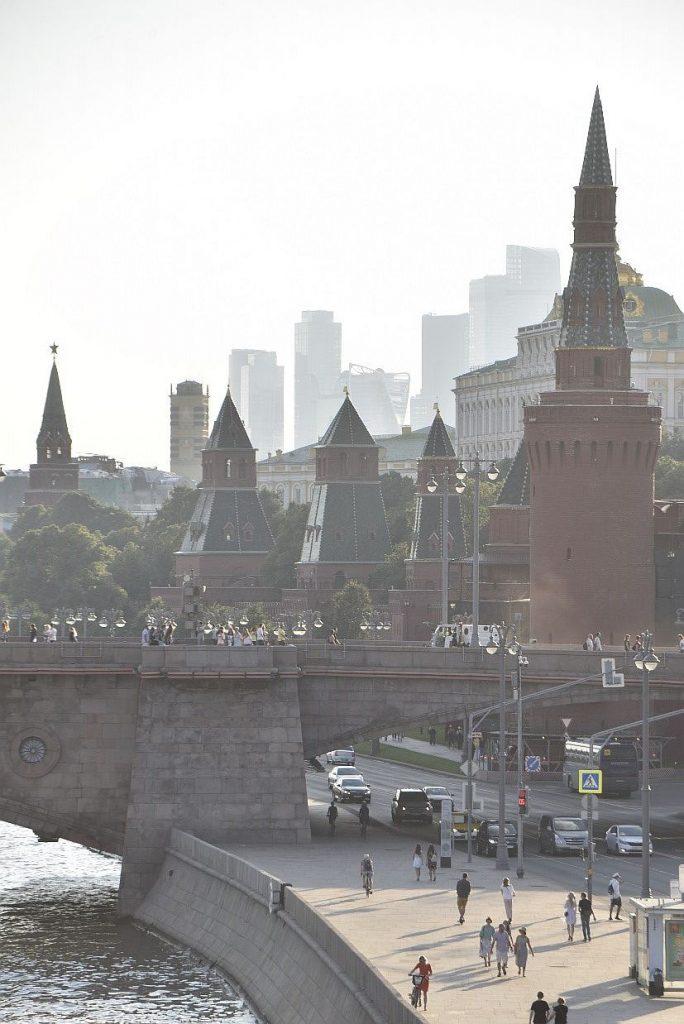Sightseehing in Moskau