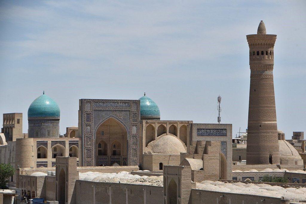 Buhara in Usbekistan. Ein Traum der Seitenstraße.