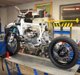 Zusammenbau einer SWT-BMW
